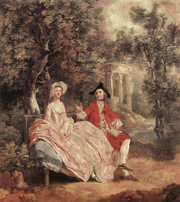 Thomas Gainsborough  Conversation in a Park  c. 1740