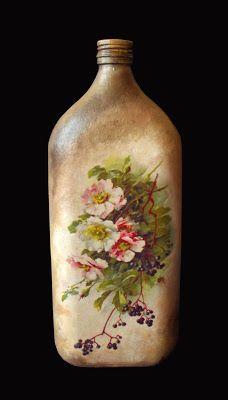 MonaDecu: Kwiatowa butelka ♡
