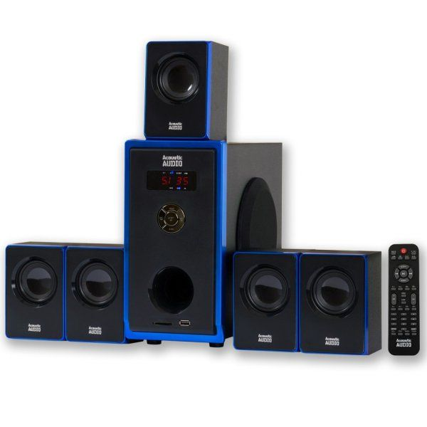 Acoustic Audio AA5102 Home Theater Speaker
