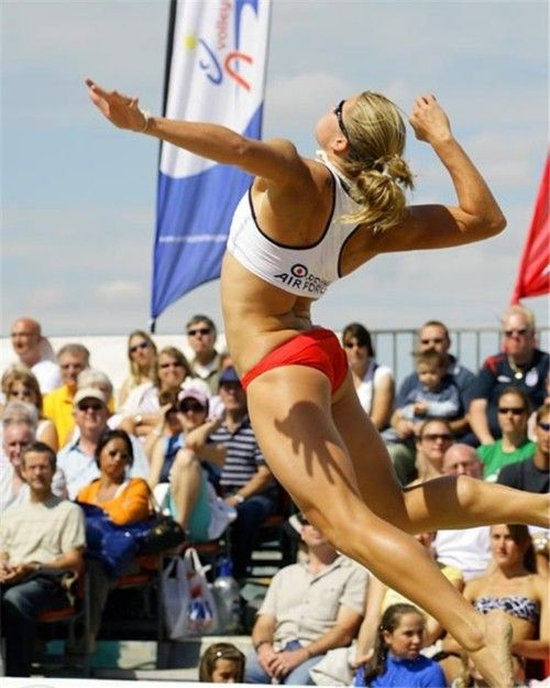 GB beach volleyball player lucy boulton