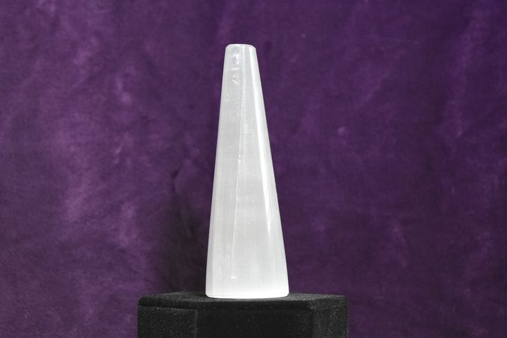Selenite Flat Top Energy Towers for positive energy; FB1223