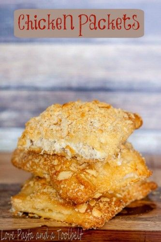 Chicken Packets are simple to make and kid friendly- Love, Pasta and a Tool Belt | Chicken recipes | Dinner recipes | food | recipes |