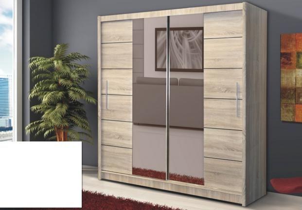Vásárlás: Gardrób V. 200-as gardróbszekrény, sonoma tölgy Gardróbszekrény, ruhásszekrény árak összehasonlítása, Gardrób V 200 as gardróbszekrény sonoma tölgy boltok