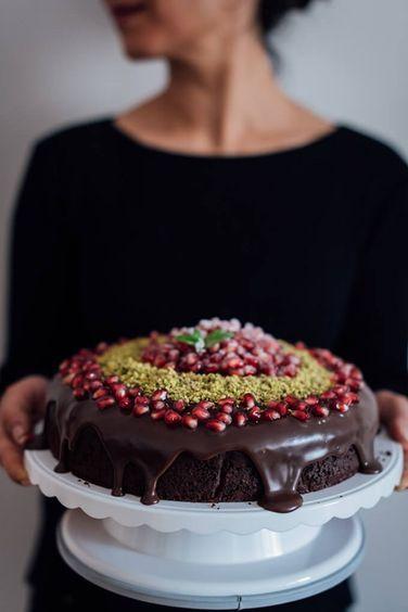 Yogurt Chocolate Cake