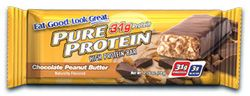 Pure Protein Bars  The best low carb high protein bars I have tried so far, they are really good and definitely a great replacement for a meal.  I have only tried the chocolate peanut butter, and they are yummy.