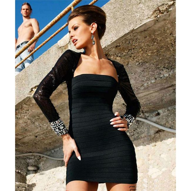 FERUZA BANDAGE DRESS AU$149