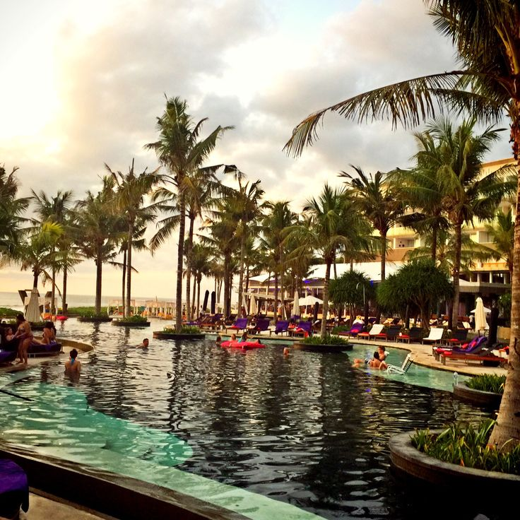 You can see beautiful sunset at woobar and amazing W hotel.The best moment here!!Please come to Bali ,Indonesia.