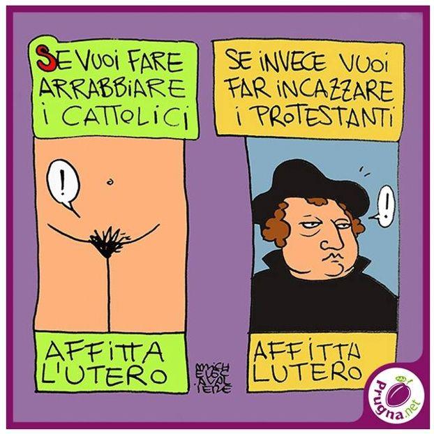 L'utero e Lutero