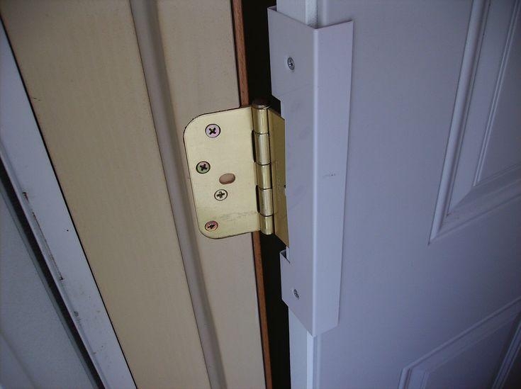 Security Door Hinge Covers