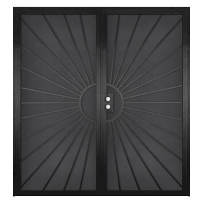 Security screen doors for double entry solana 72 in x for Screen door for double door entry
