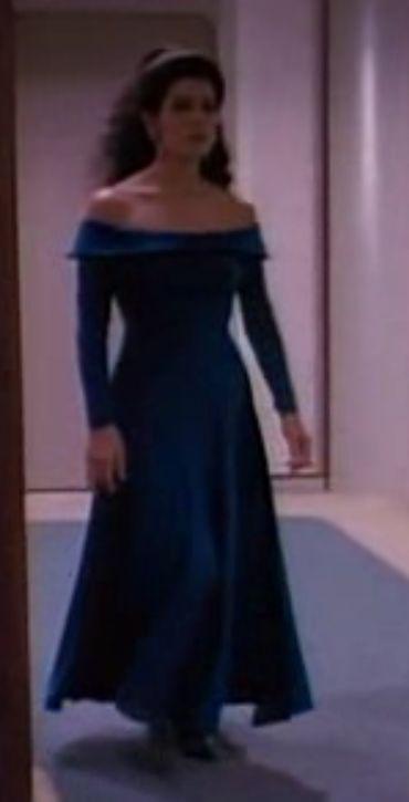 Deanna Troi Teal Dress Fashion It So Con Ideas