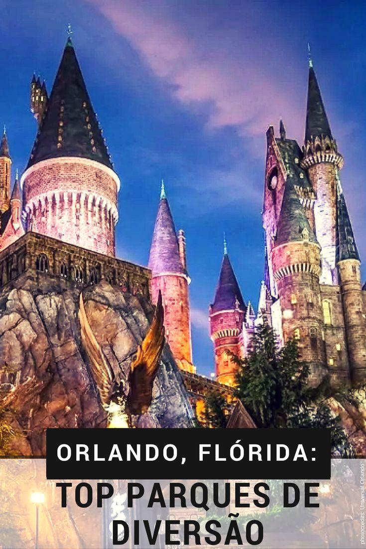 Orlando Florida, os Top Parques de Diversão. #dicasdeviagem #Orlando