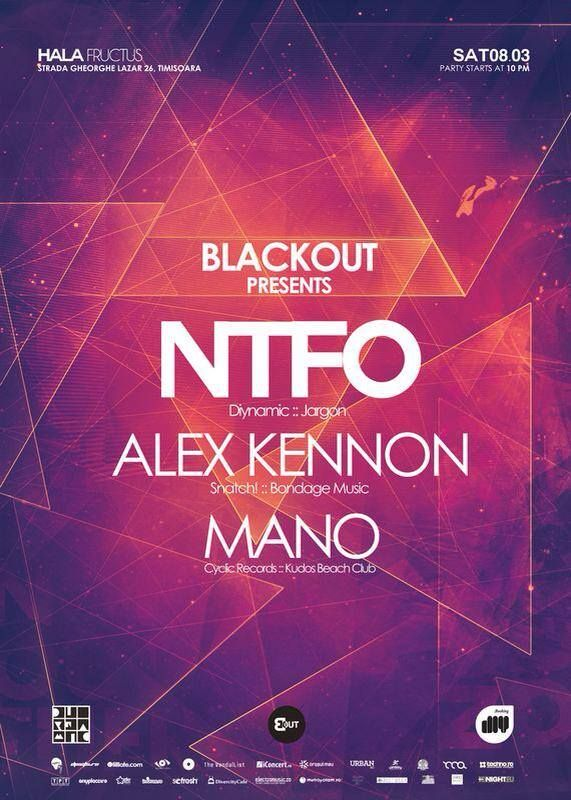 Our first BlackOut party in Timisoara.