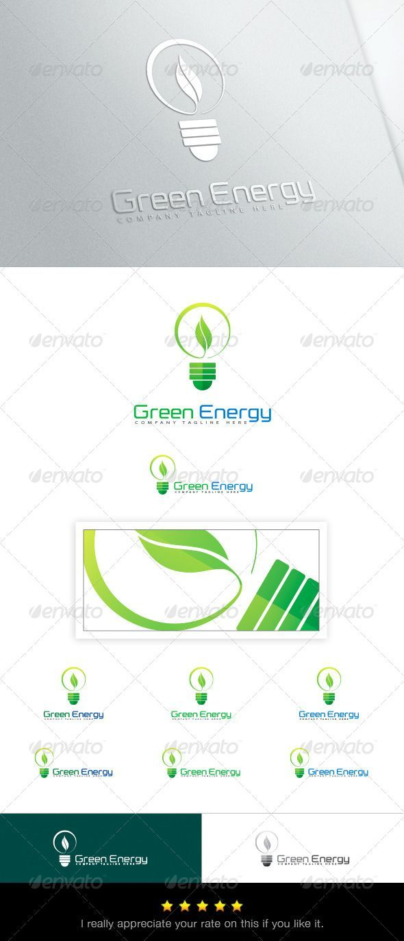 Green Energy Logo   PSD Template • Download ➝ https://graphicriver.net/item/green-energy-logo-template/6844404?ref=pxcr