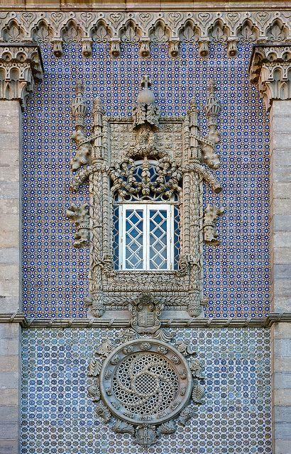 Tiled Wall Palácio da Pena, Sintra Portugal