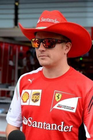 In the Paddock with #F1 Pilot: Kimi Räikkönen @ 2014 Italian Grand Prix