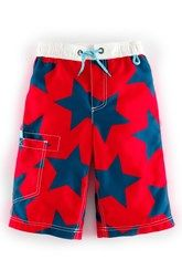 Mini Boden Board Shorts (Toddler Boys, Little Boys & Big Boys)