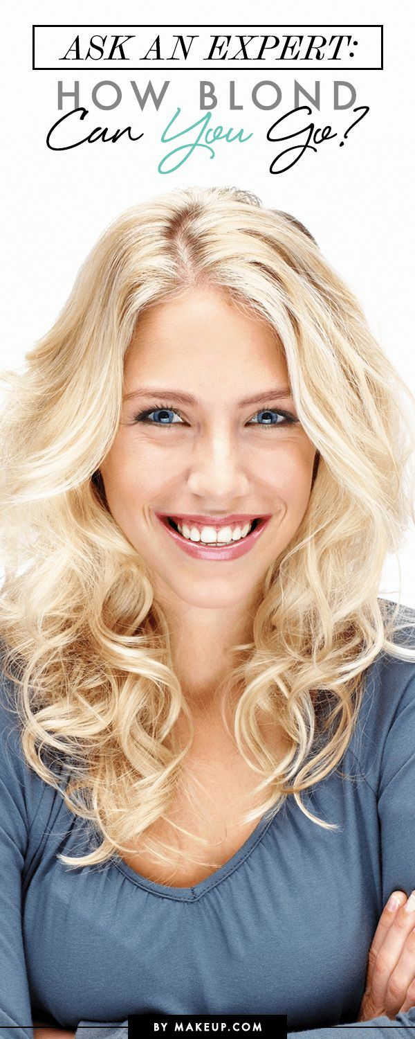Ask an Expert: How Blond Can You Go?