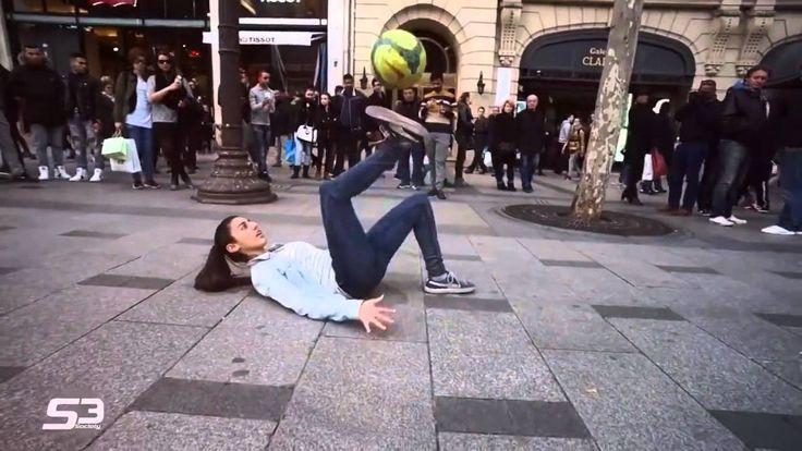 Insane STREET Football Skills - Panna London Pt2 Séan ... 1