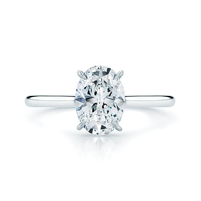 40 best images about oval cut engagement rings on