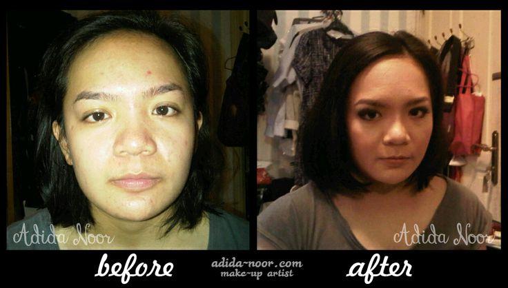 Make-up by Adida Noor (Indonesian Make-Up Artist) please visit : adida-noor.com