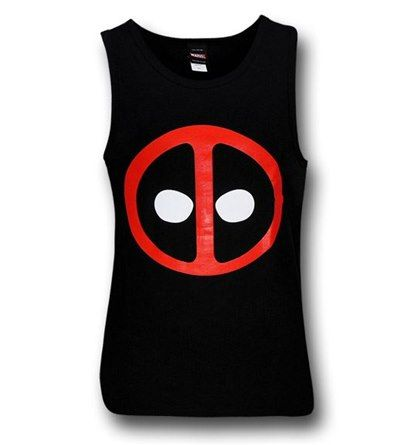 Images of Deadpool Symbol Tank Top