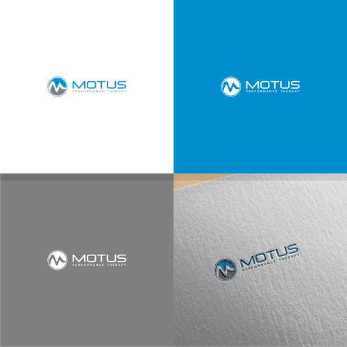 MOTUS - Performance Therapy - New Chiropractic Clinic Needs Modern Logo to Attract Athletes Using therapeutic modalities(acupuncture, massage, dry needling, spinal manipulation, etc..)to improve performance, e... #AcupunctureUses