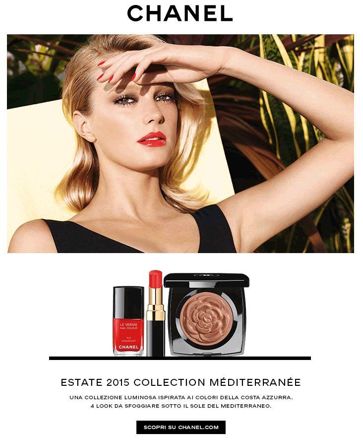 Chanel   Un'estate sotto il sole del Mediterraneo.