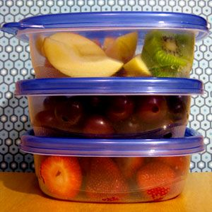 Do These 9 Things in Your Kitchen to Lose Weight...good tips on preparing healthy meals and snacks so you don't binge on junk when you are hungry and pressed for time.