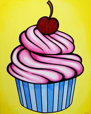 Cupcake Art Design : pop art cupcake SWeets Pinterest Art cupcakes, Pop ...