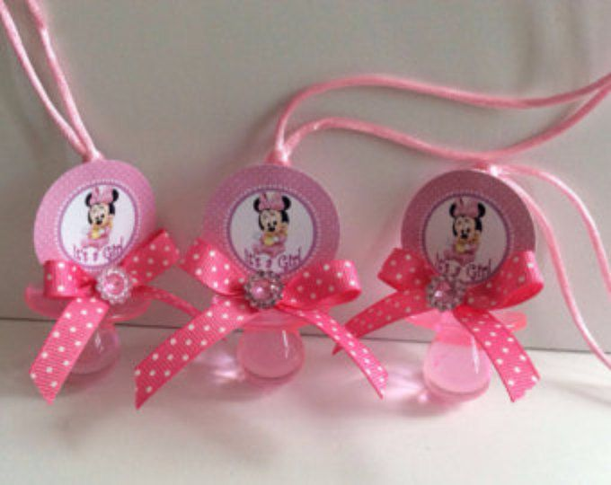 12 Mickey Mouse baby shower pacifiers  Mickey Mouse baby