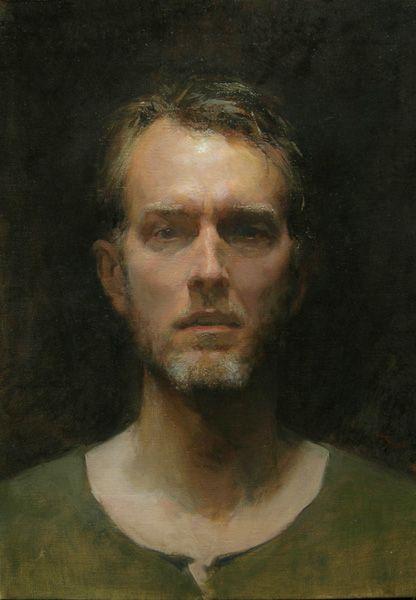 """andreas Birath """"Self portrait, april 2010"""""""