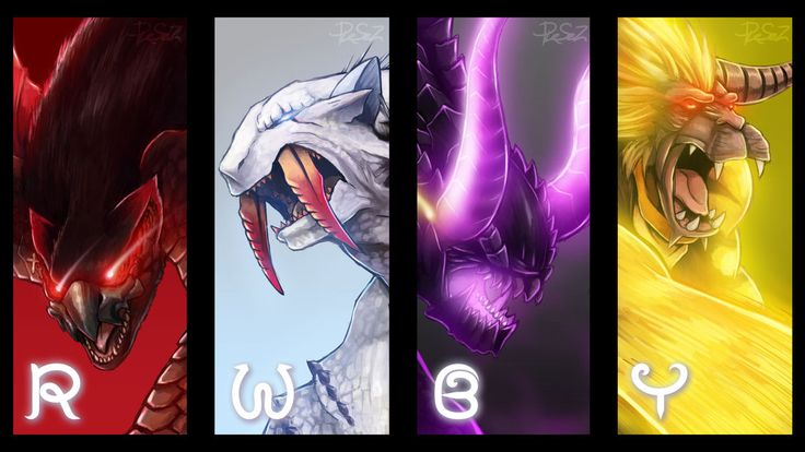 [RWBY] If team RWBY are Monster Hunter by Reef1600 on DeviantArt