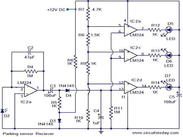 best images about elektronik arduino circuit parking sensor circuit electronic circuits and diagram electronics projects and design