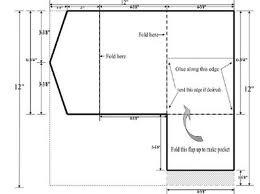 folding invitation template