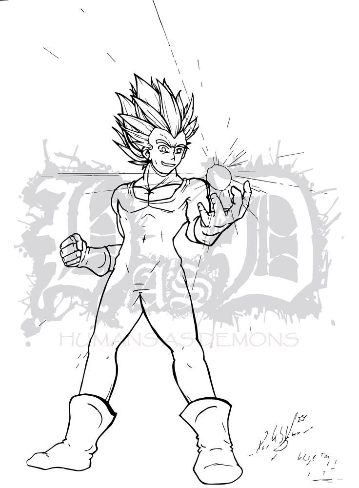 Un FanArt que hice de Vegeta uno de mis personajes favoritos :3 me costo mucho trabajo ya que no solo dragon sino todos los trabajos de Akira Toriyama tienen un estilo muy caracteristico pero creo que lo logre :3