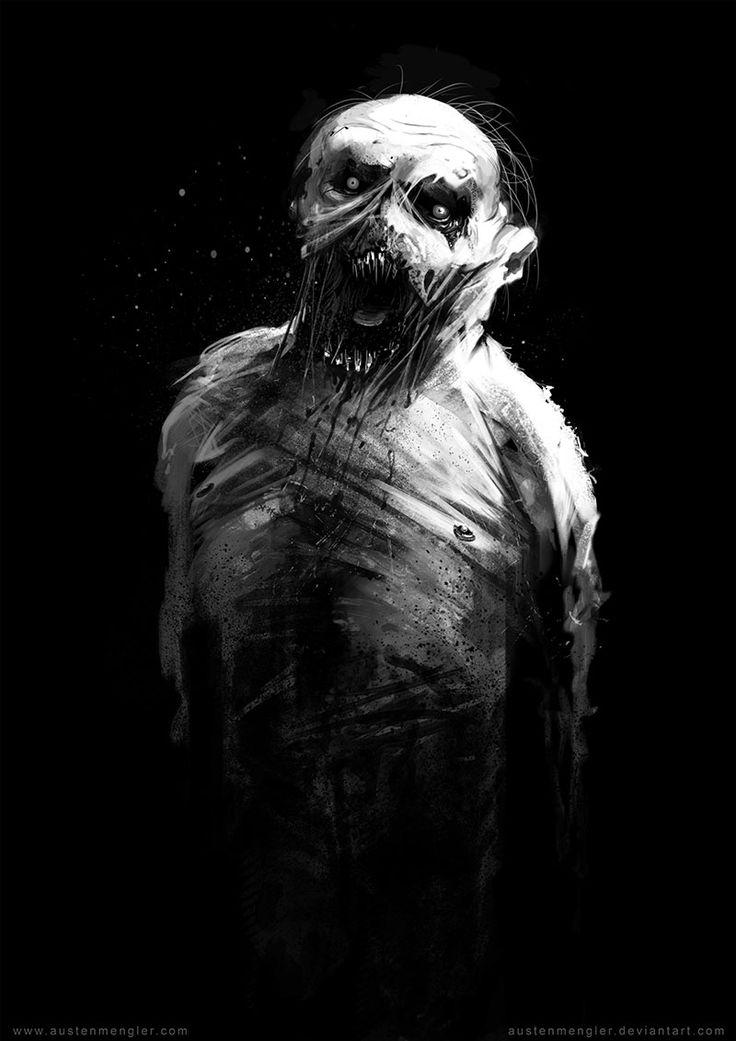 Hollow by AustenMengler ghoul demon devil zombie mummy ...
