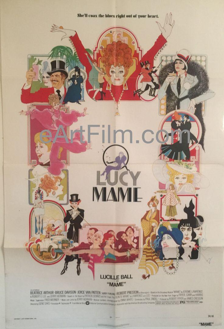 Mame-Lucille Ball-Beatrice Arthur-Joyce Van Patten-Robert Preston-27x41-1974