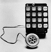 """Steve Wozniak´s """"Blue Box"""", 1972"""