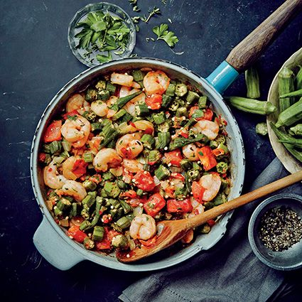 Sautéed Shrimp and Okra Recipe on Yummly. @yummly #recipe
