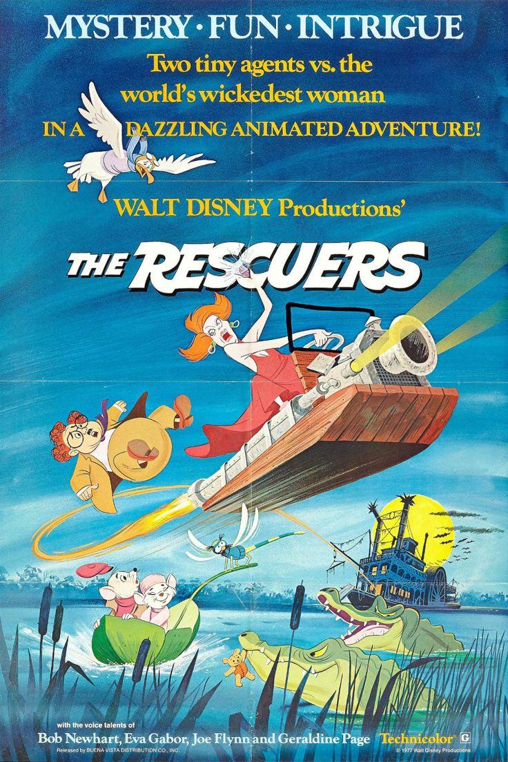 23) The Rescuers / Bernardo & Bianca (1977) - 8/10