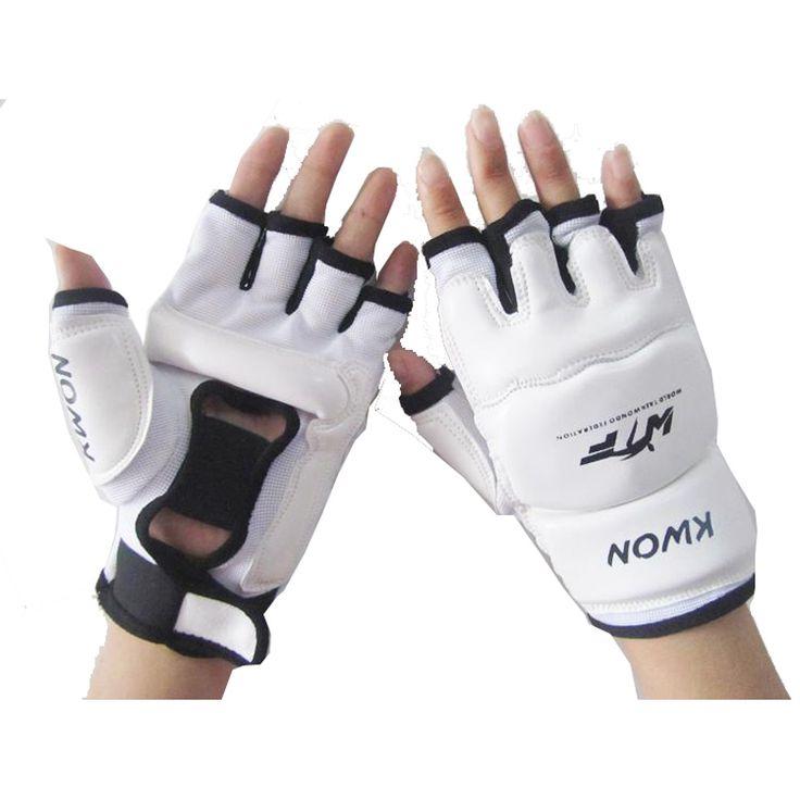 Half Fingers Kids/Adults Sandbag Punch Training Boxing Gloves Sanda/Karate/Muay Thai/Taekwondo Protector t068DNBE