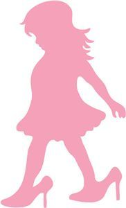Silhouette Online Store: girl in mommy's shoes {now 30% off until the end of July}