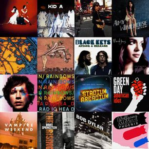 Best albums of the 2000s --  Listen to Rollings Stones Best 100 albums of 80's, 90's, 00's in their entirety..
