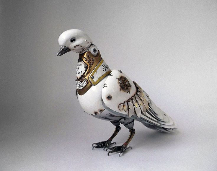 Steampunk Animal Sculptures by Igor Verniy http://designwrld.com/steampunk-animal-sculptures-igor-verniy/