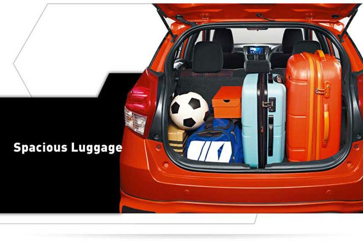 All New Yaris 1500 S TRD Luggage