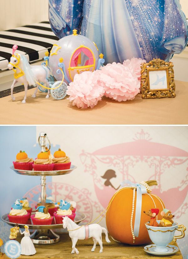 144 best Cinderella birthday party images on Pinterest