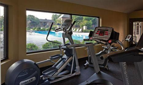 Hurstbourne Grand's fitness center, open 24/7.  #AGranderLifestyle www.ntshurstbourne.com
