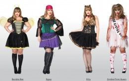 Sexy Plus size Halloween Costumes to fit you