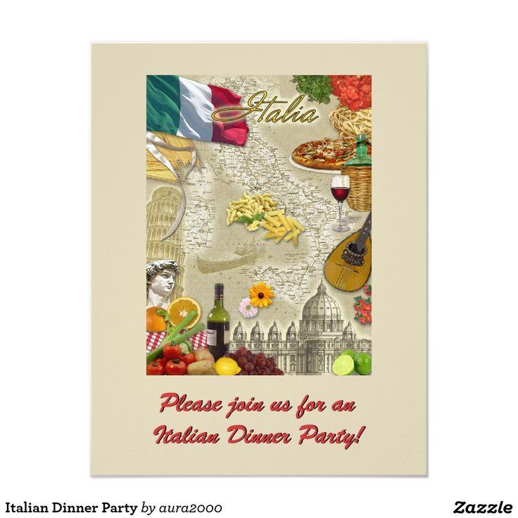 21 best italian dinner party images on Pinterest | Italian dinner ...